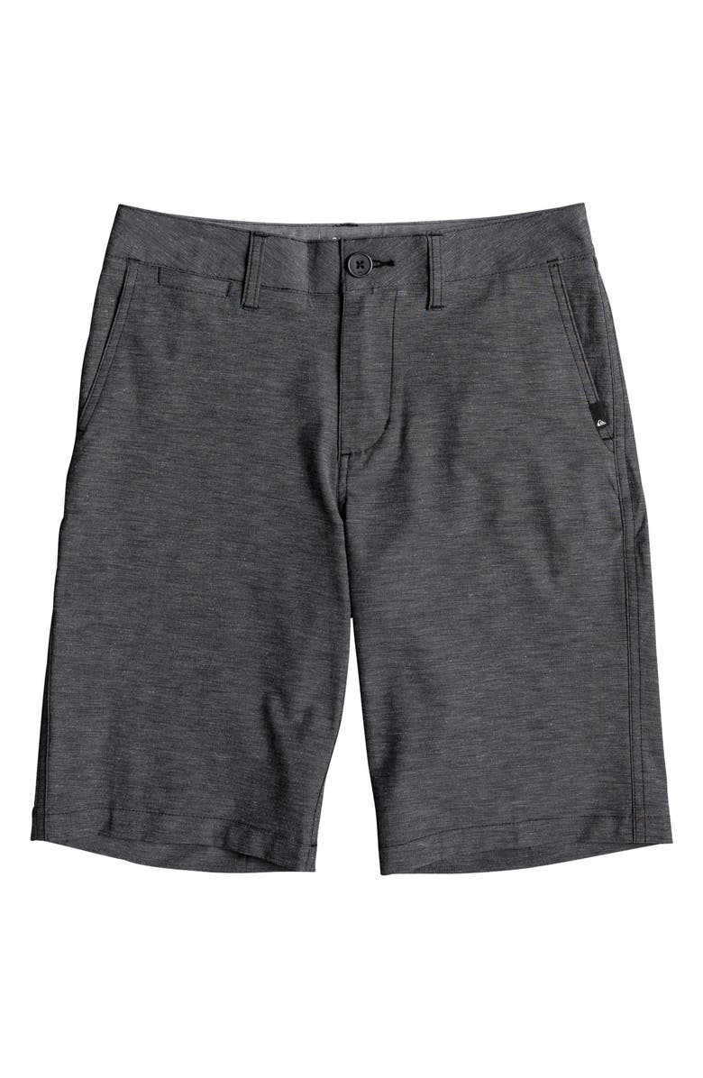 Quiksilver Union Heather Amphibian Hybrid Shorts Big Boys