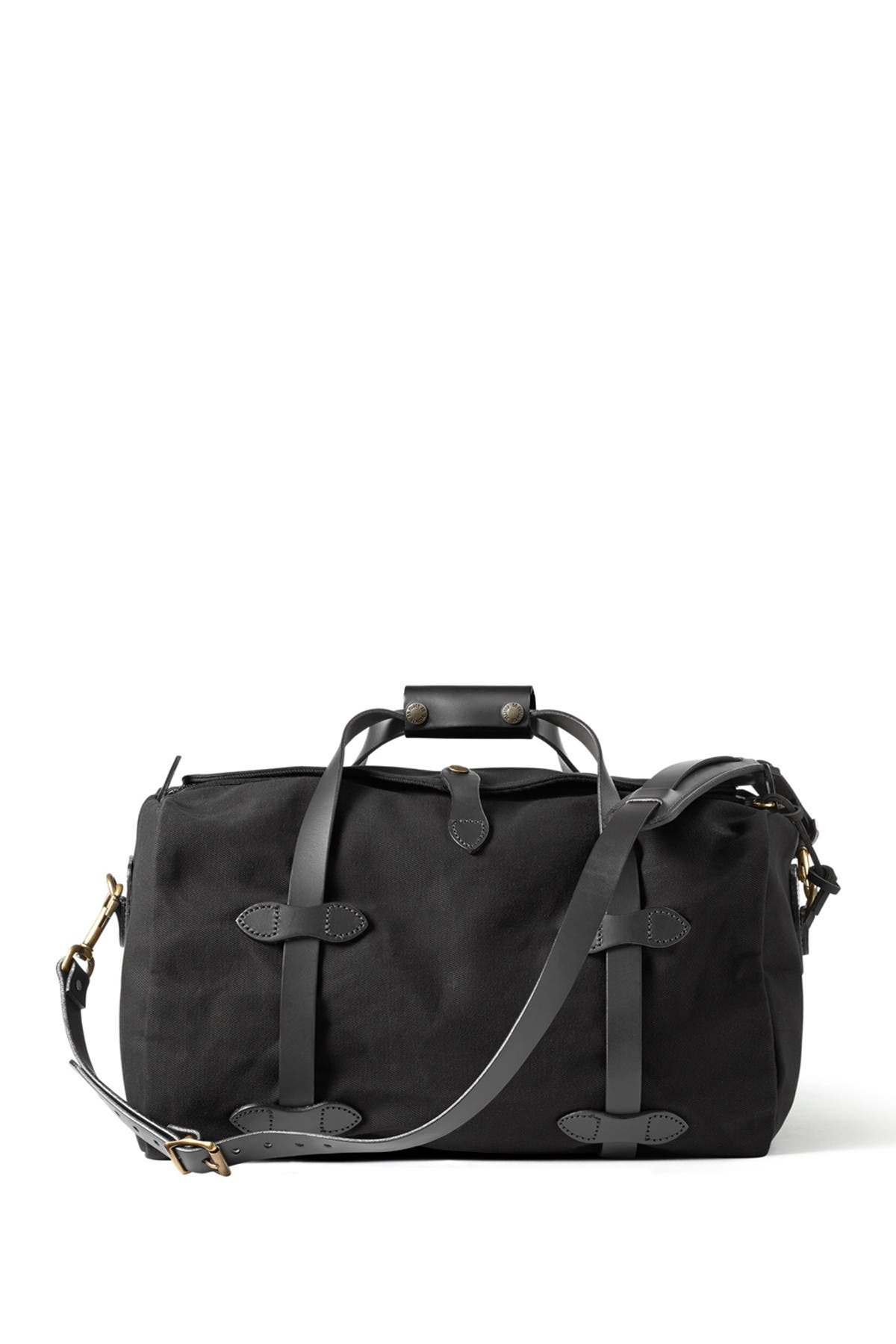 Image of Filson Small Leather Trimmed Duffel Bag