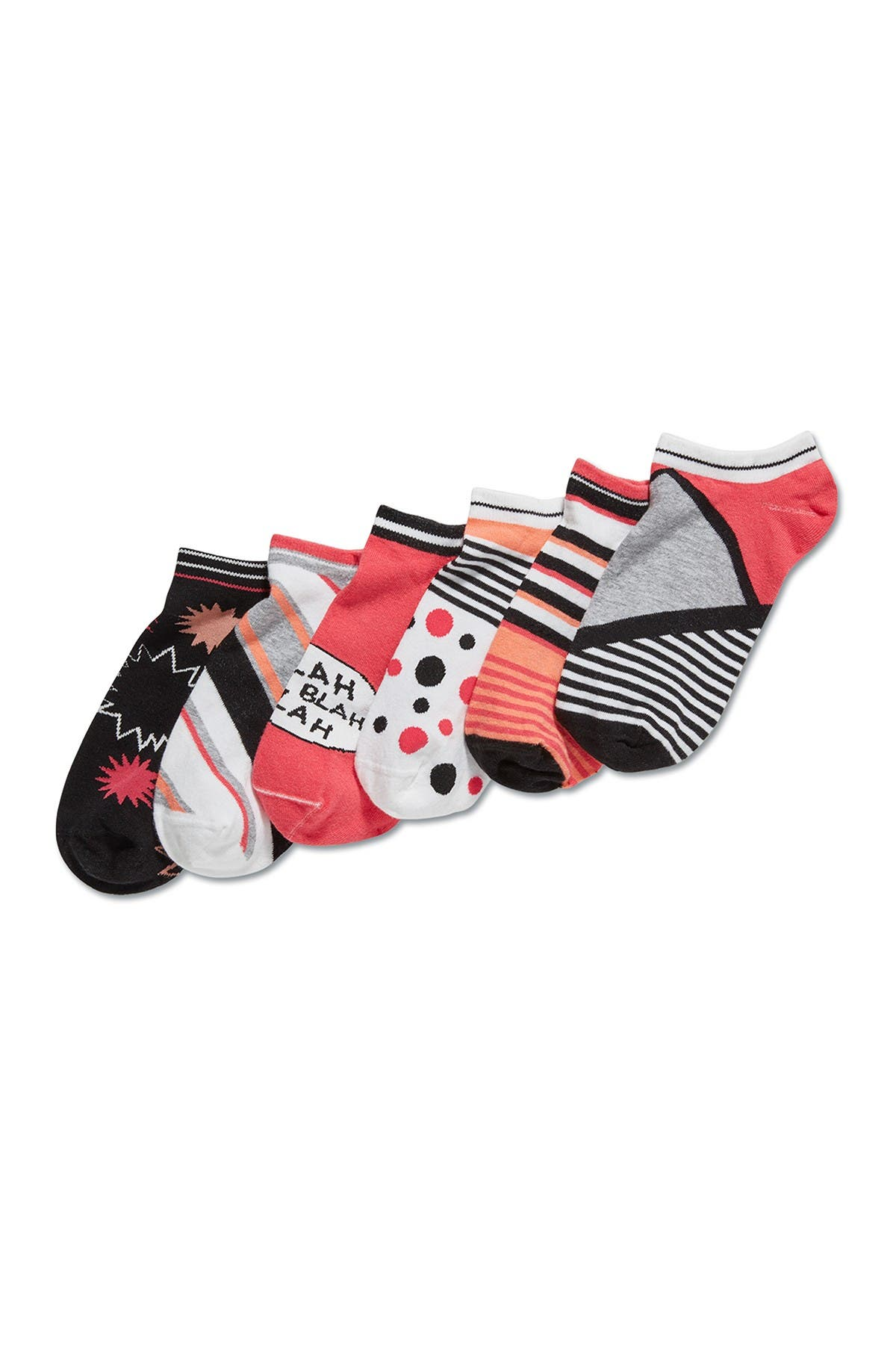 Image of HUE Mix & Match Low Cut Socks - Pack of 3