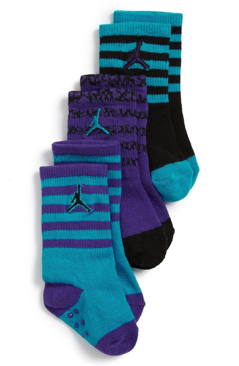 best selling sells get online NIKE 'Jordan' Socks (3-Pack) (Baby, Walker & Toddler ...