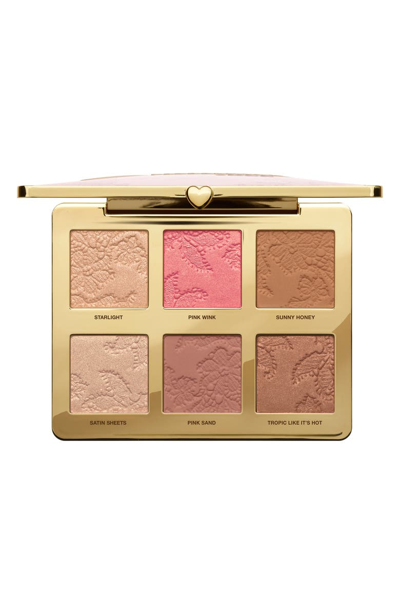 TOO FACED Natural Face Palette, Main, color, 000