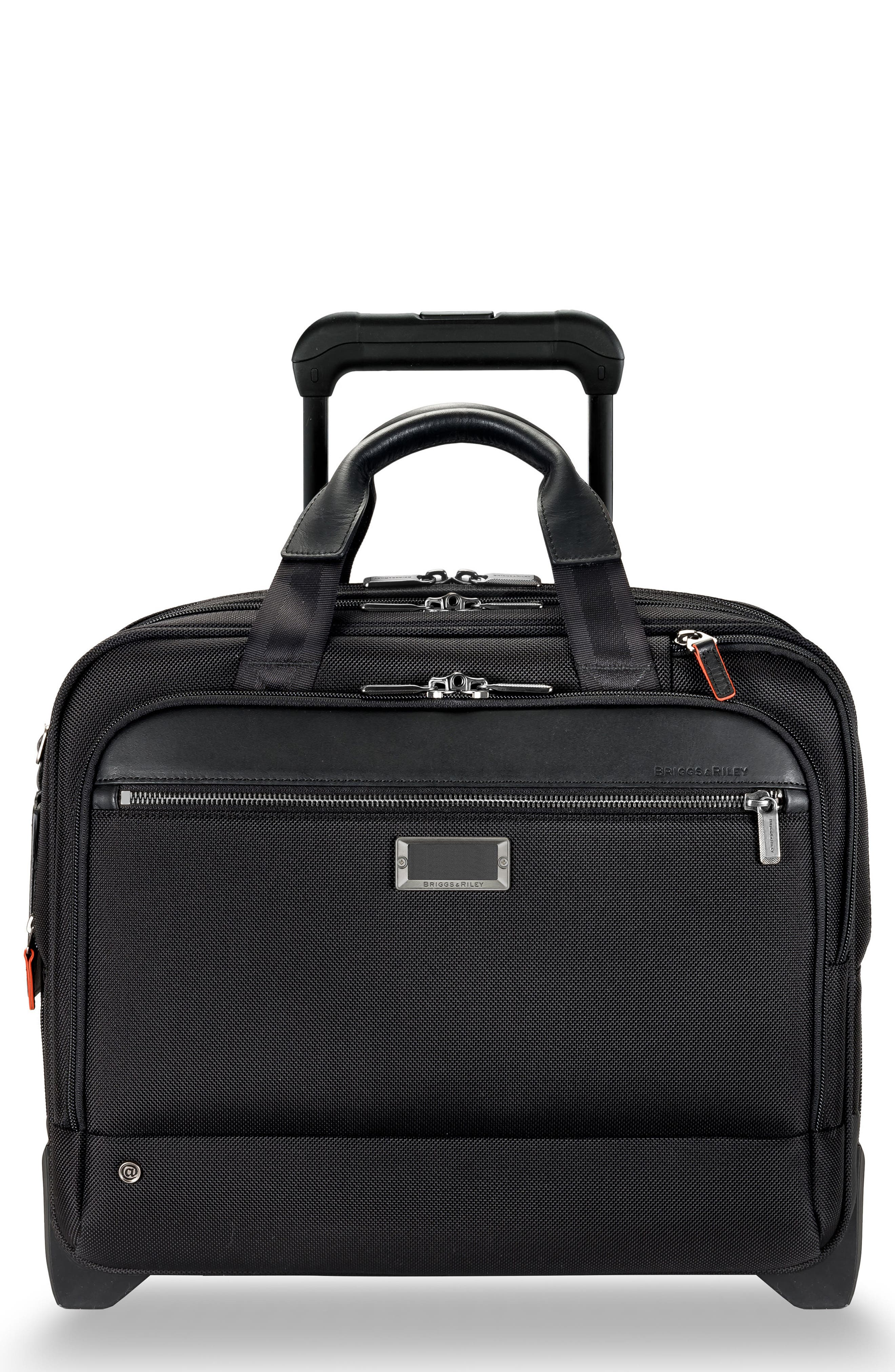 @work 15-Inch Medium Expandable Wheeled Briefcase