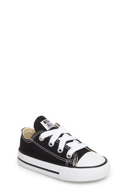 Converse Kids' Baby Chuck Taylor All Star Cribster Crib Booties From Finish Line In Black