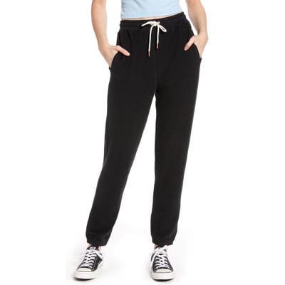 Volcom Lil Fleece Sweatpants, Black