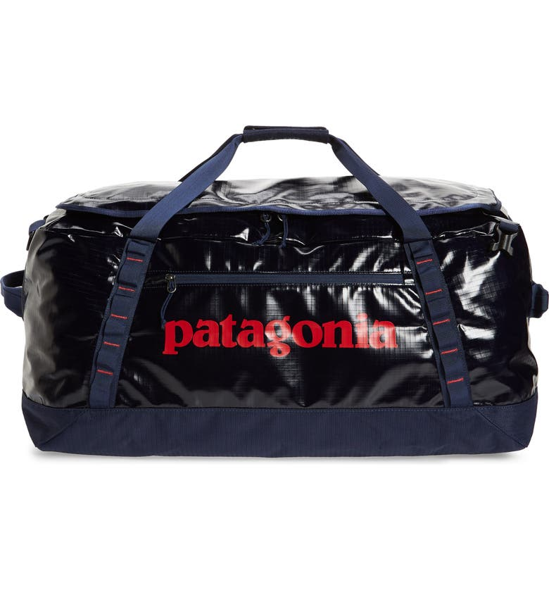 PATAGONIA Black Hole Recycled 70-Liter Convertible Duffle Bag, Main, color, CLASSIC NAVY