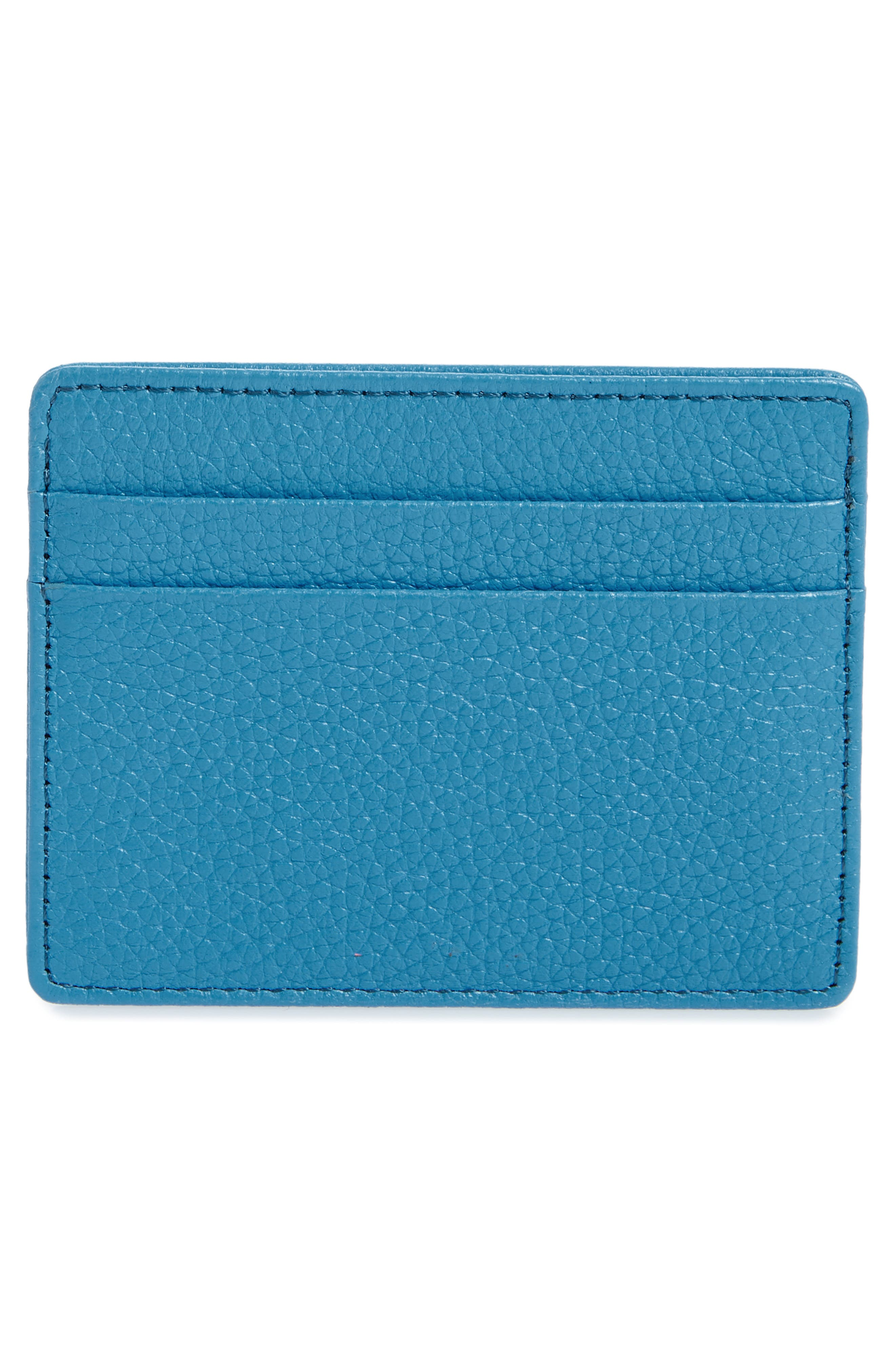 ,                             Jamie Leather Card Case,                             Alternate thumbnail 40, color,                             424