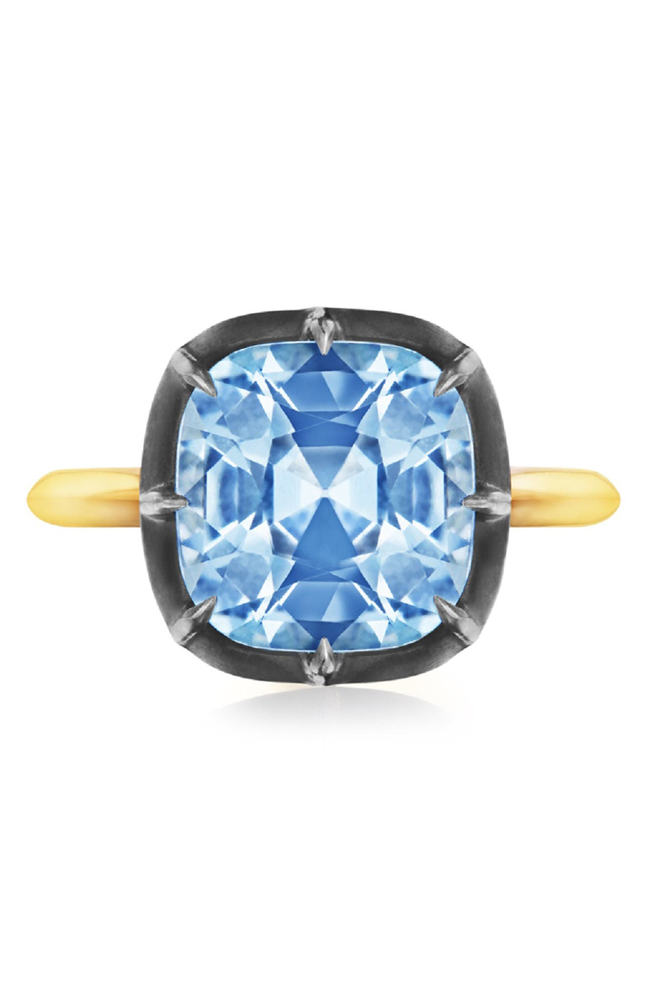 Collet Cushion Ring