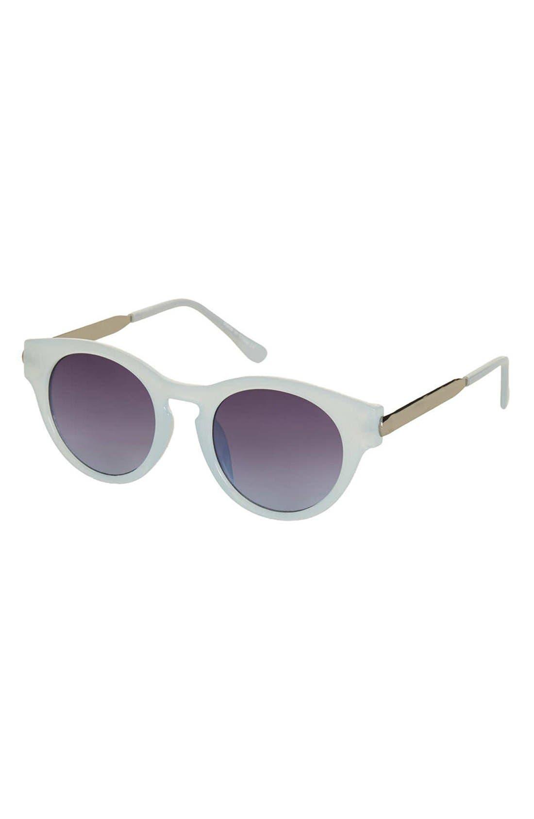 'Warren' 48mm Cat Eye Sunglasses, Main, color, 450