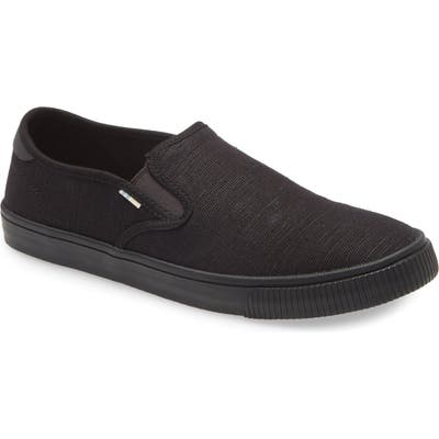 Toms Baja Slip-On- Black
