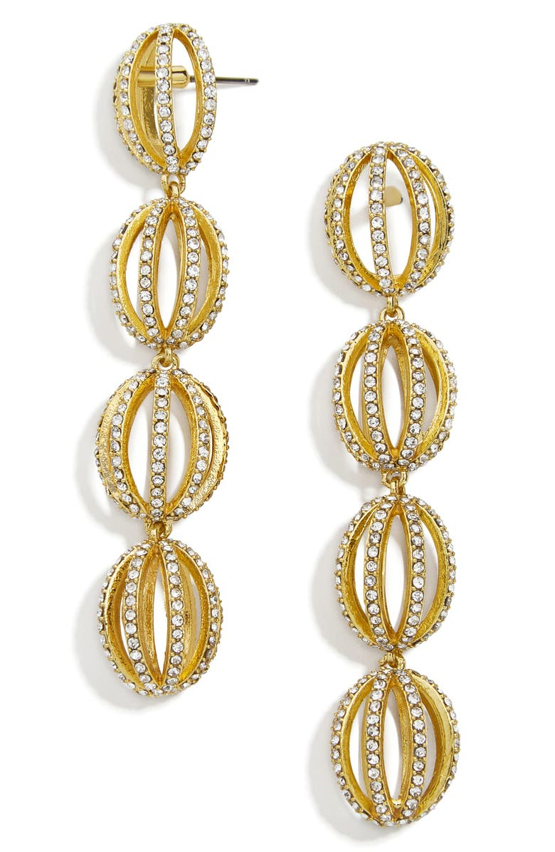 BAUBLEBAR Ami Drop Earrings, Main, color, GOLD