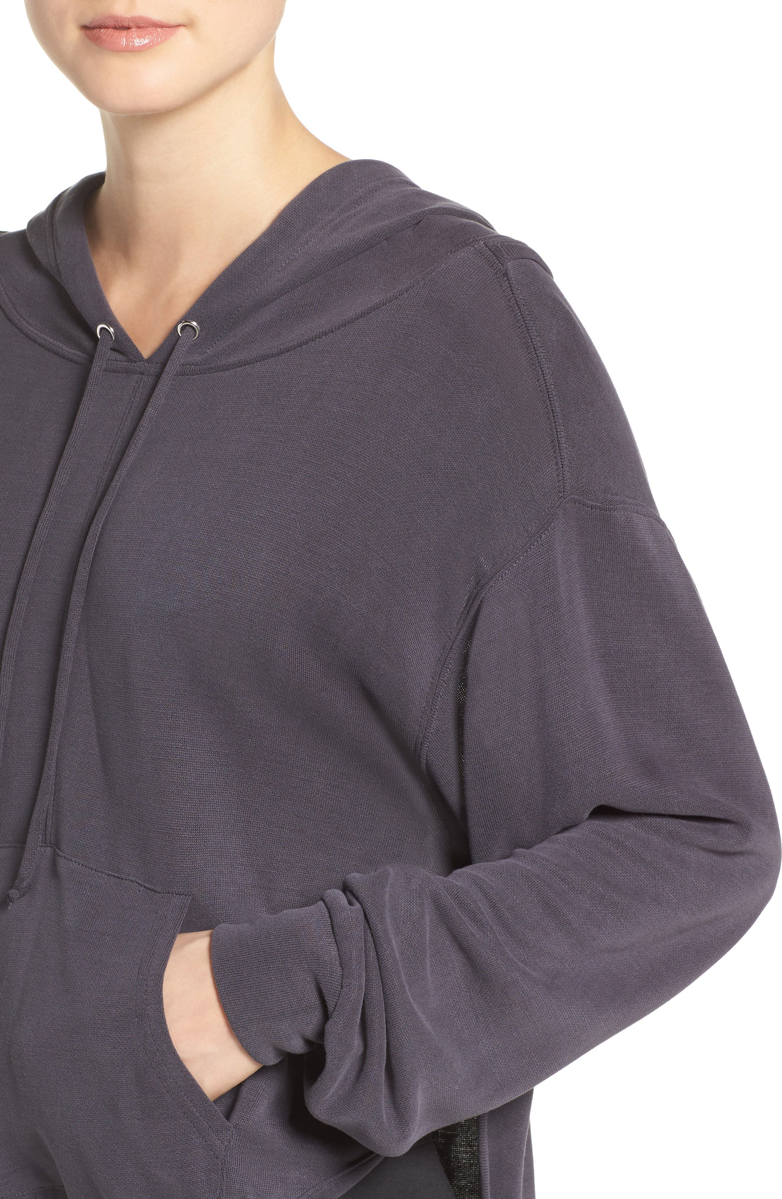 ,                             Back Into It Cutout Hoodie,                             Alternate thumbnail 20, color,                             001