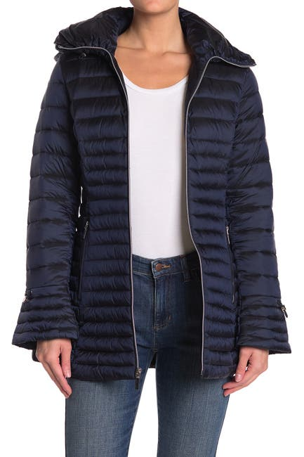 Image of Laundry By Shelli Segal Lightweight Puffer Jacket