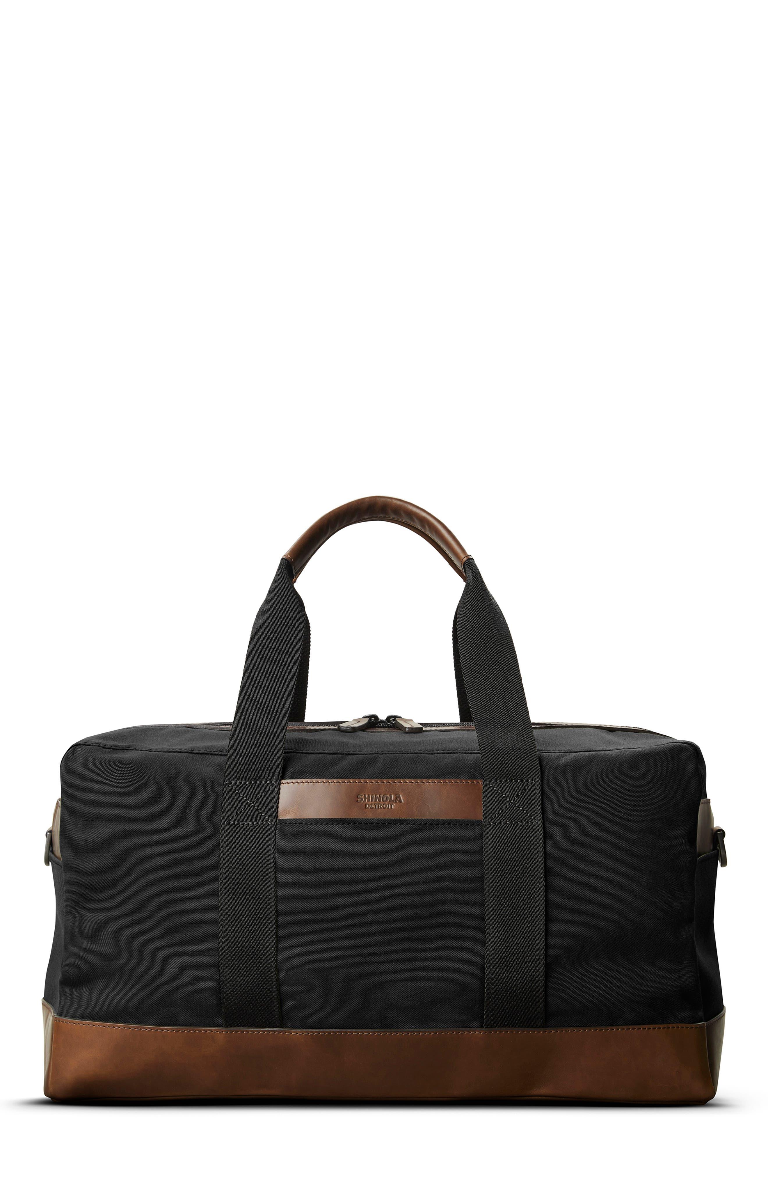 Mack Waxed Canvas Duffle Bag