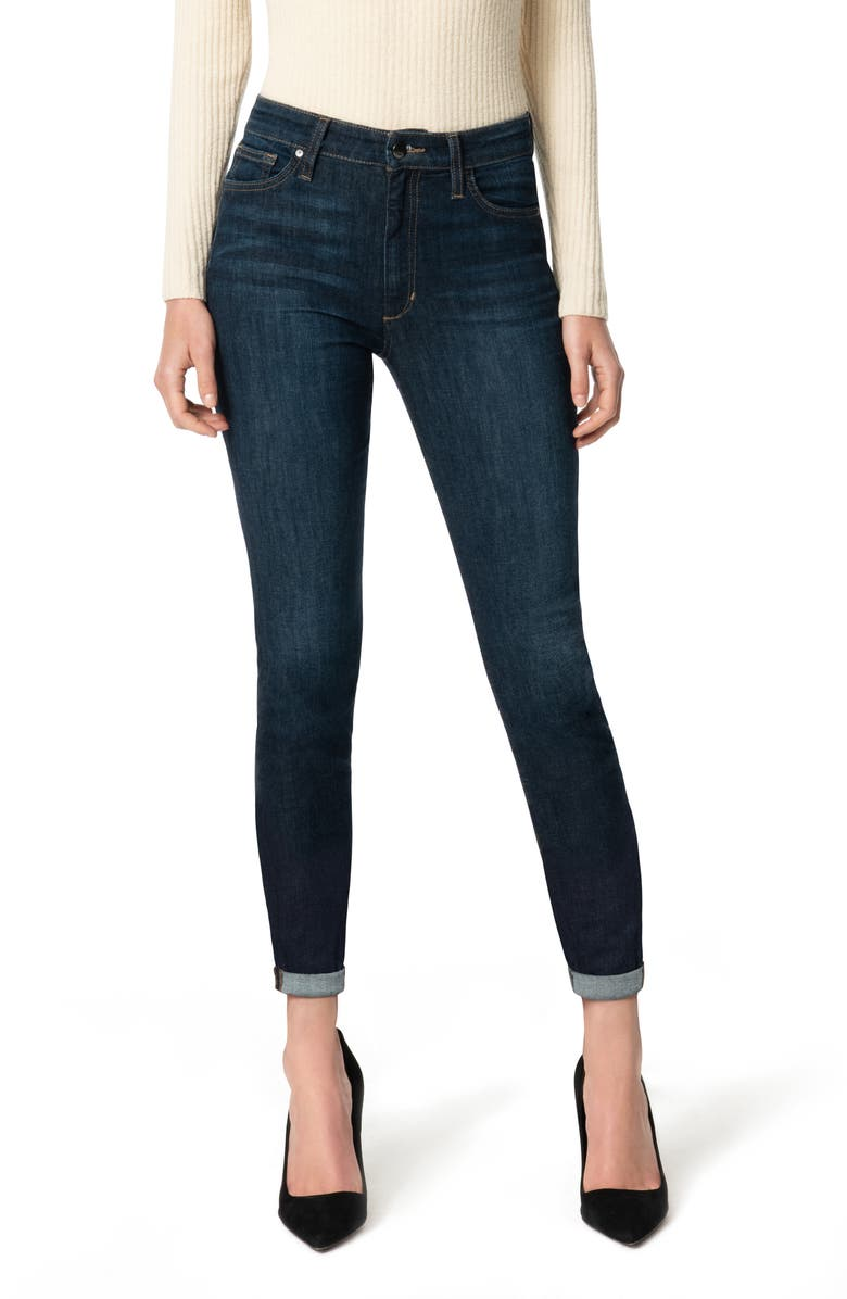 JOE'S High Waist Crop Skinny Jeans, Main, color, CLEMENTINE