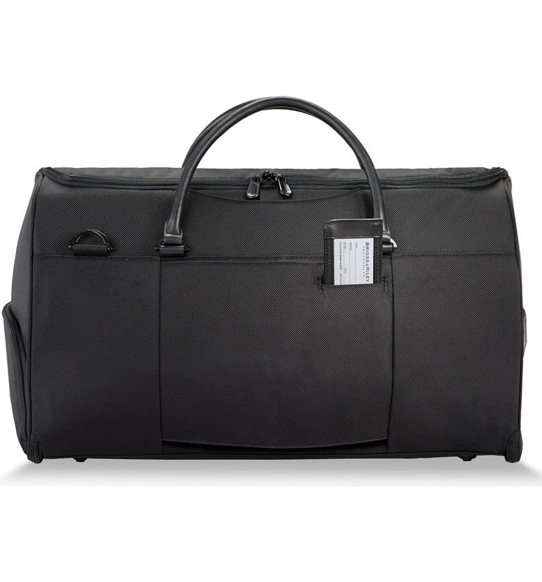 BRIGGS & RILEY Baseline Suiter Duffle Bag, Main, color, BLACK