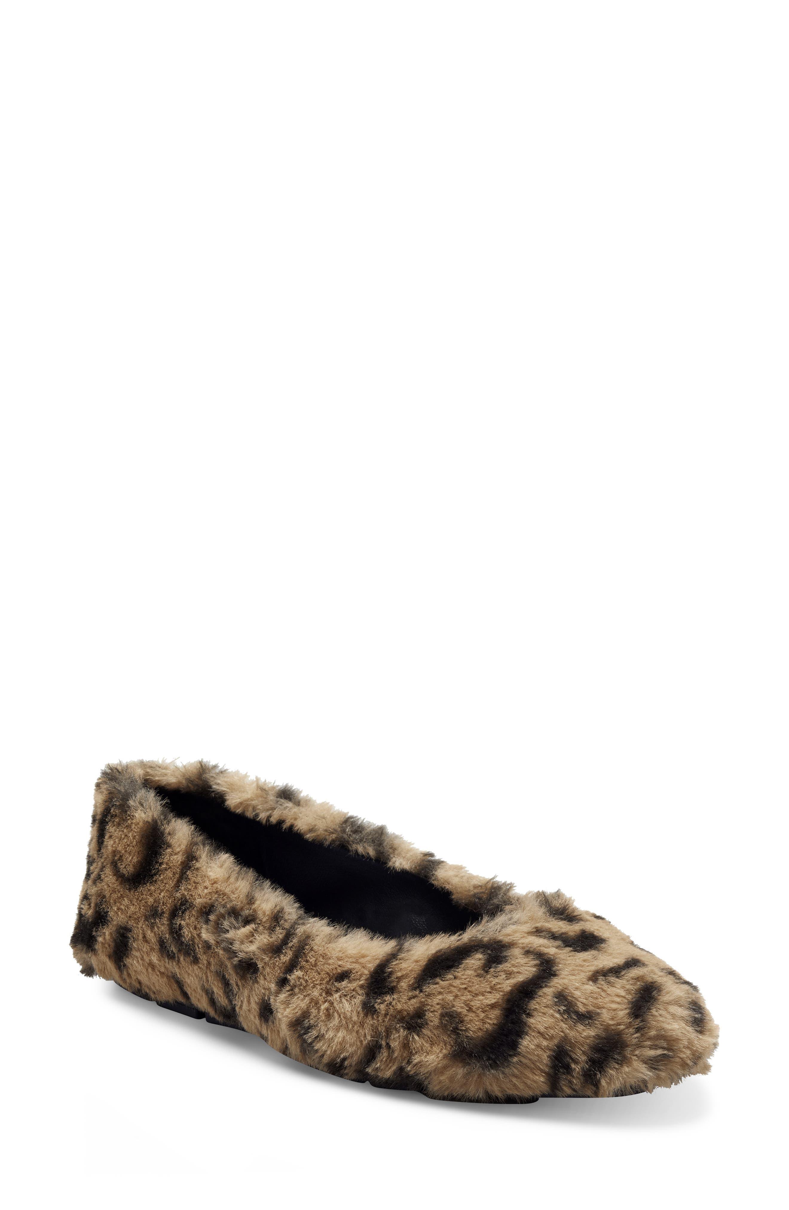 Brinley Faux Fur Flat