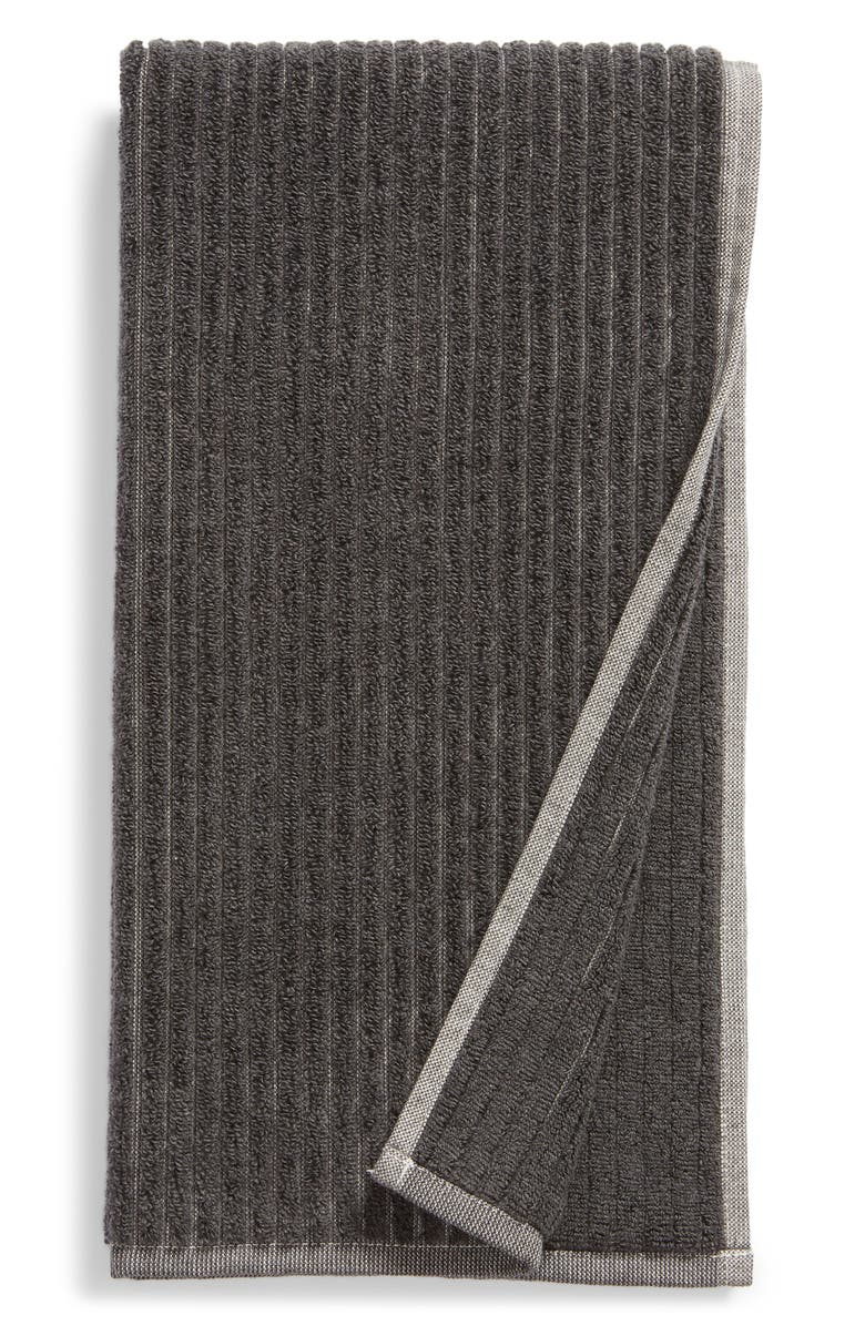 NORDSTROM Rib Organic Hydrocotton Hand Towel, Main, color, 020
