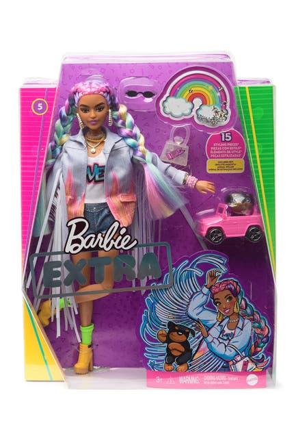 Image of Mattel Barbie(R) Extra Doll - Rainbow Braids