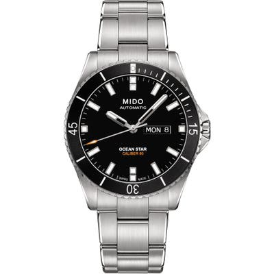 Mido Ocean Star Automatic Bracelet Watch, 42.5Mm