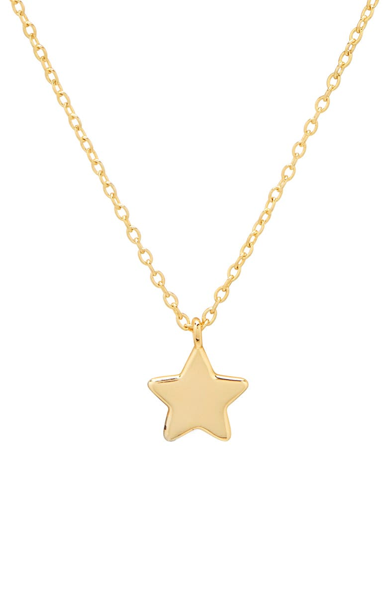 GORJANA Star Pendant Necklace, Main, color, GOLD