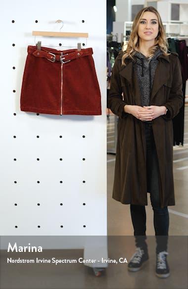 Corduroy Miniskirt, sales video thumbnail