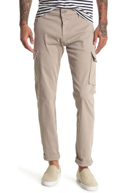 Image of 34 Heritage 34 Carson Sand Twill Cargo Pants