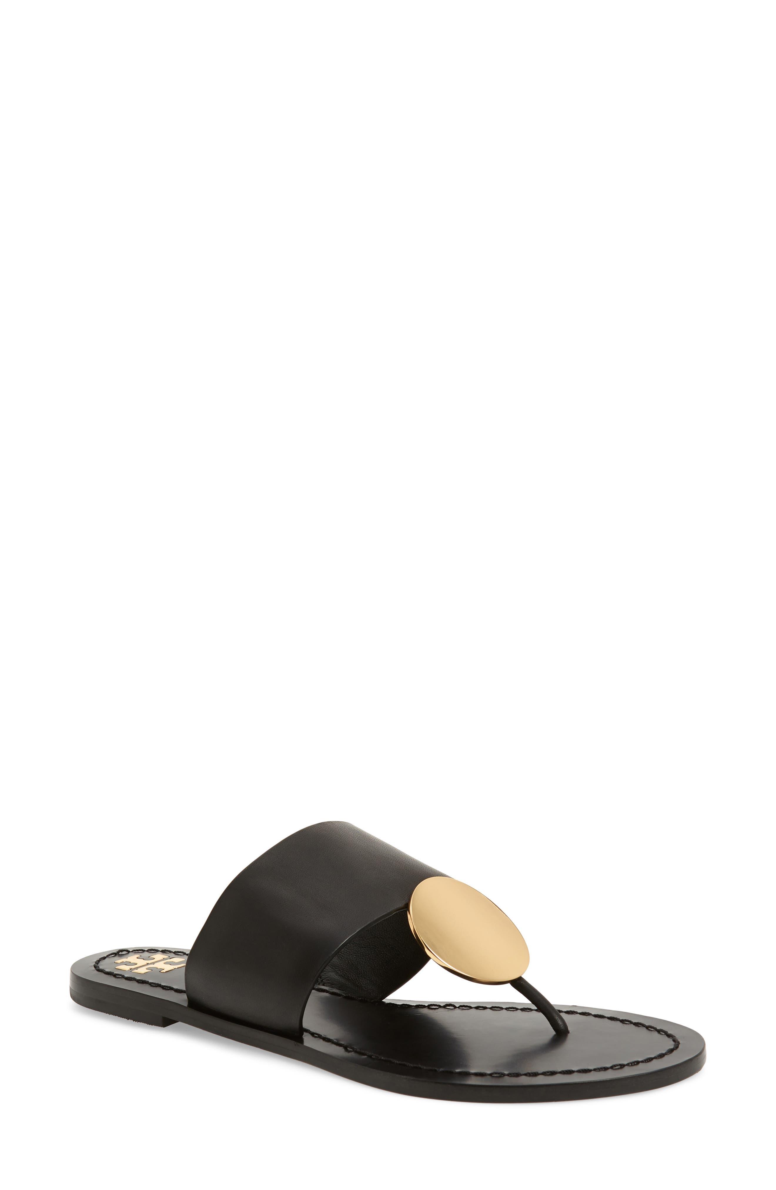 Tory Burch Patos Sandal, Black