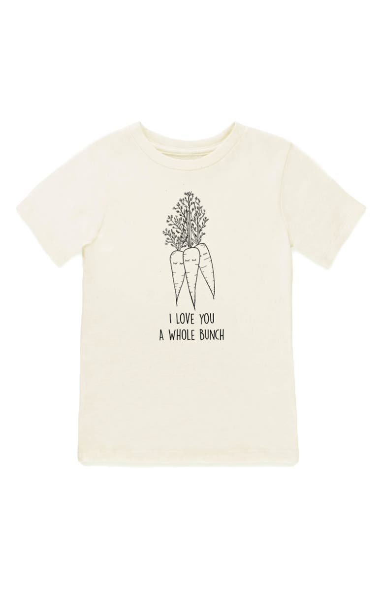 TENTH & PINE Carrot Graphic Organic Cotton T-Shirt, Main, color, NATURAL