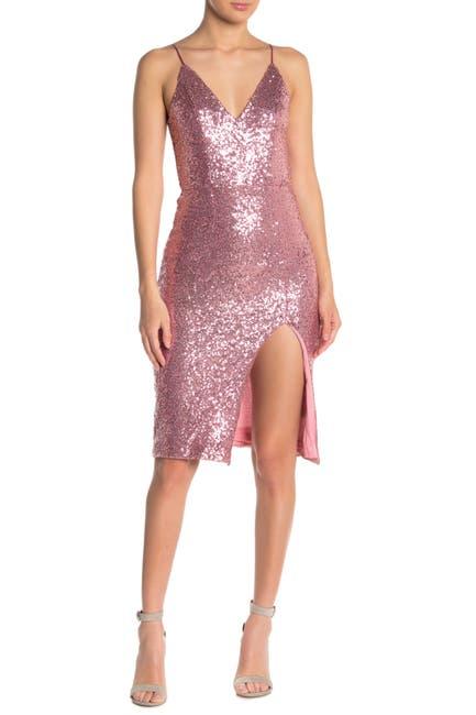 Image of Do + Be Sequin Midi Dress