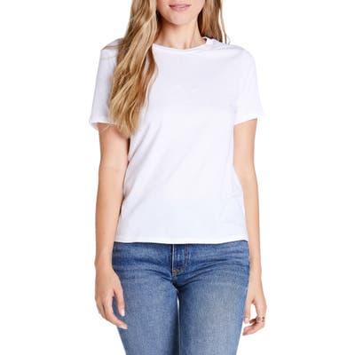 Michael Stars Vintage Jersey Collection Classic Fit Tee, White