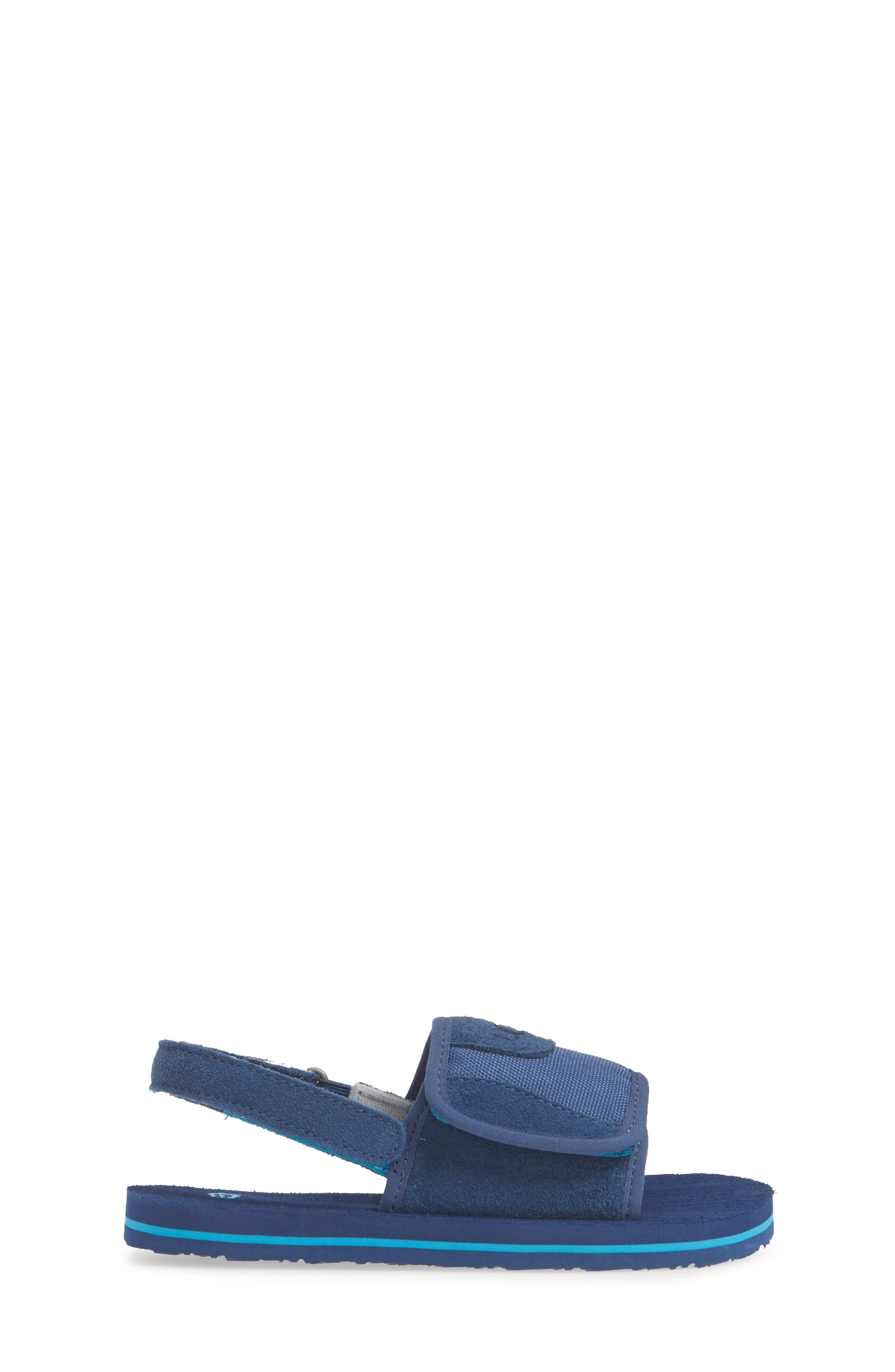 ,                             Beach Slingback Sandal,                             Alternate thumbnail 3, color,                             ENSIGN BLUE