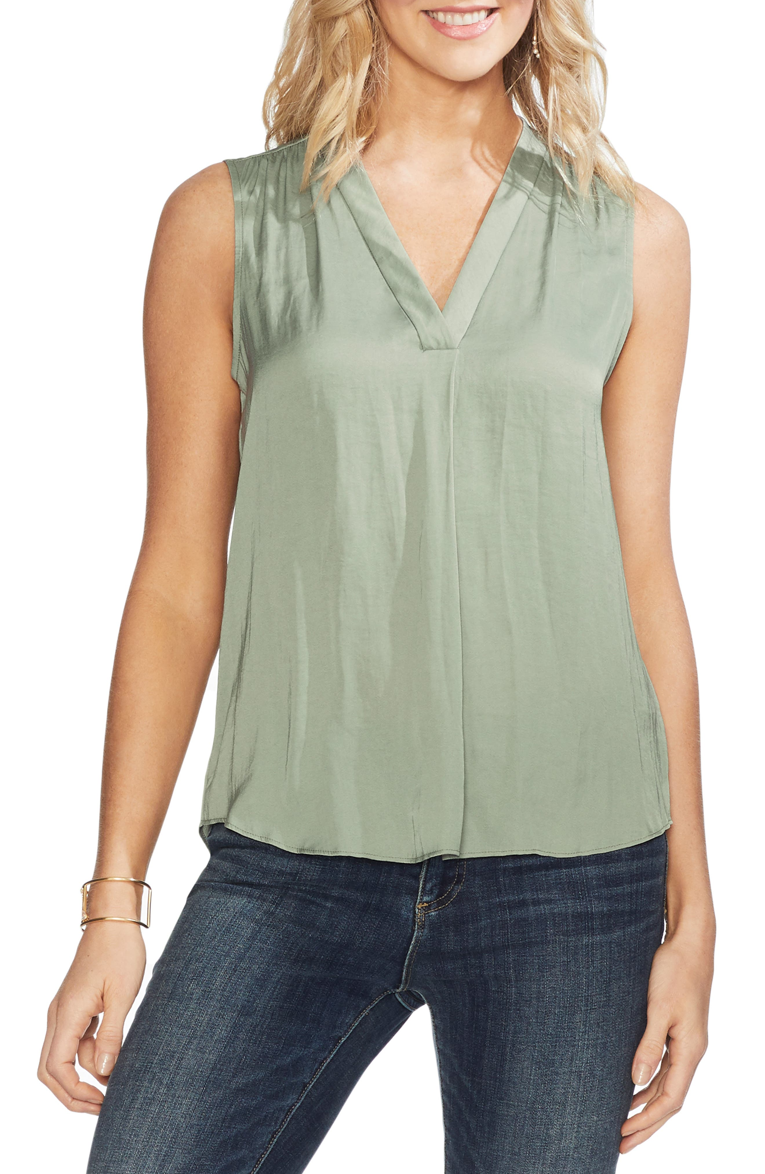 ,                             Rumpled Satin Blouse,                             Main thumbnail 10, color,                             386