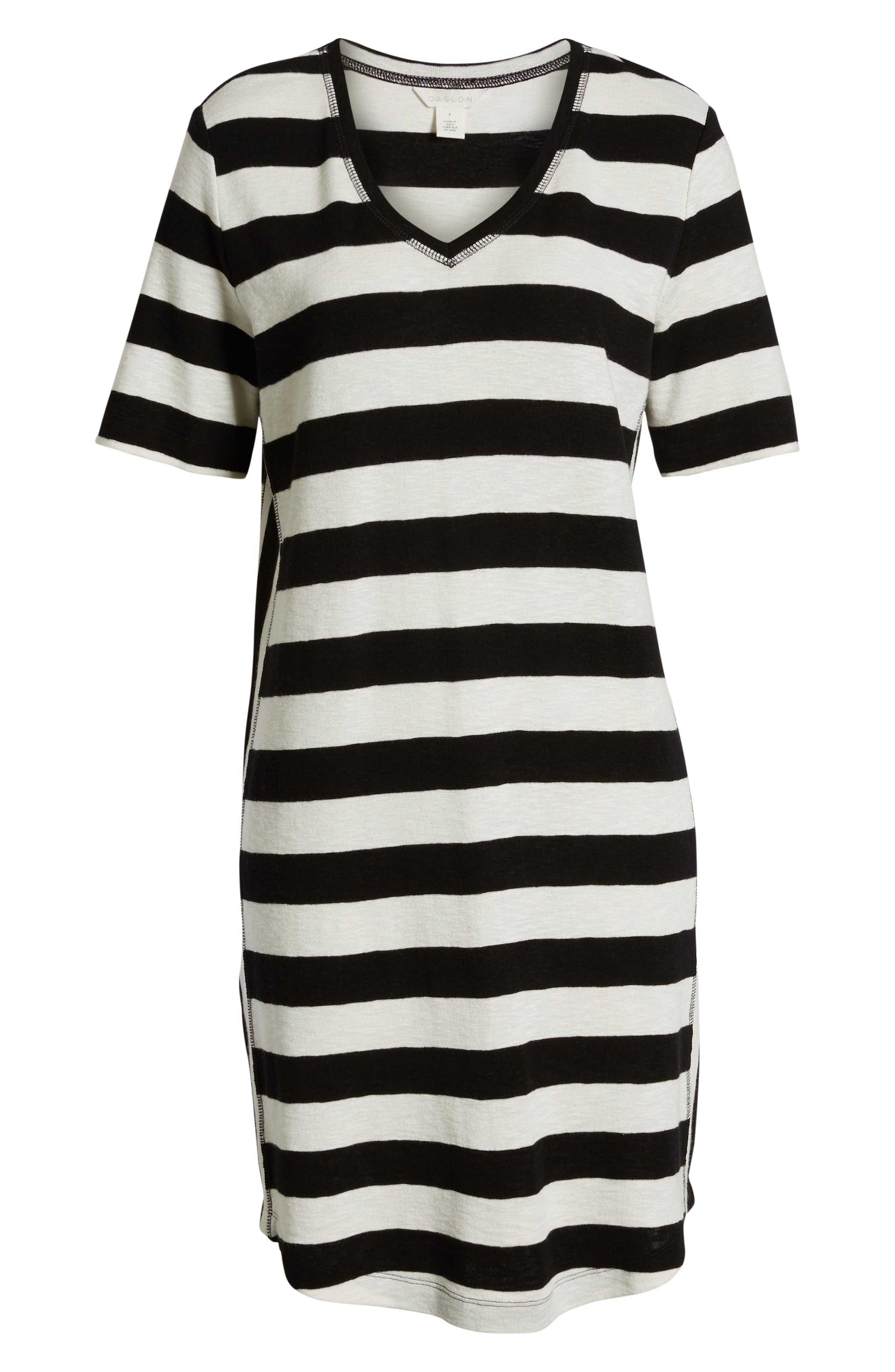 ,                             Slub Knit Dress,                             Alternate thumbnail 17, color,                             002