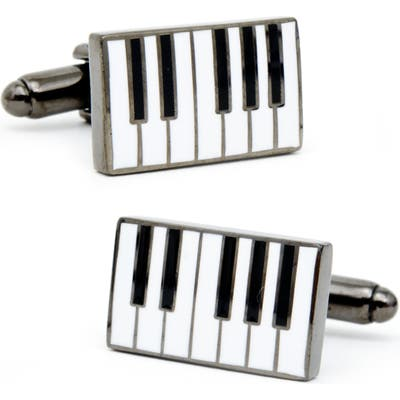 Cufflinks, Inc. Enamel Piano Cuff Lnks