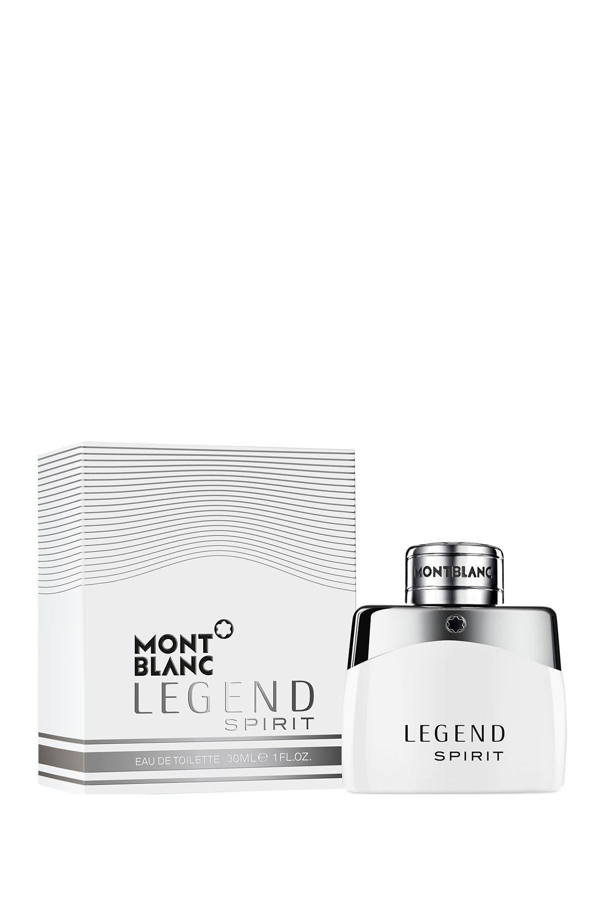 Image of Montblanc Legend Spirit Eau de Toilette Spray - 1.0 fl. oz.