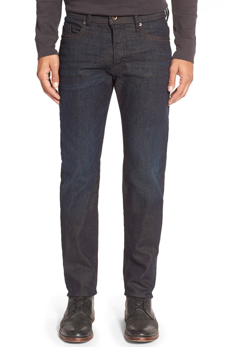 DIESEL<SUP>®</SUP> 'Buster' Slim Straight Leg Jeans, Main, color, 400