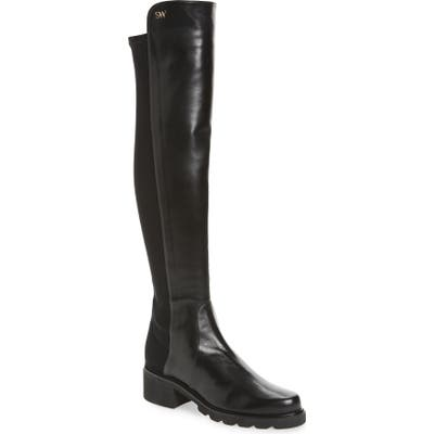 Stuart Weitzman Alina Over The Knee Boot, Black