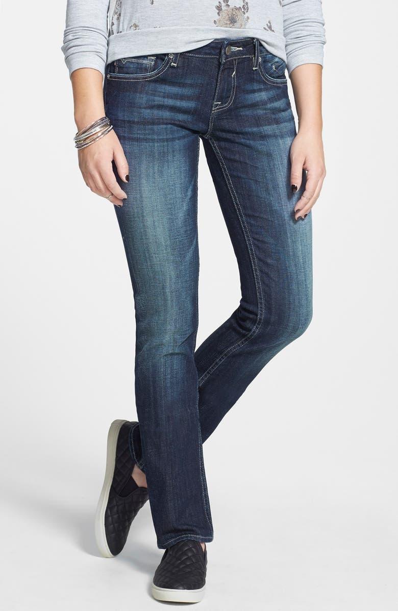 VIGOSS Straight Leg Jeans, Main, color, 403