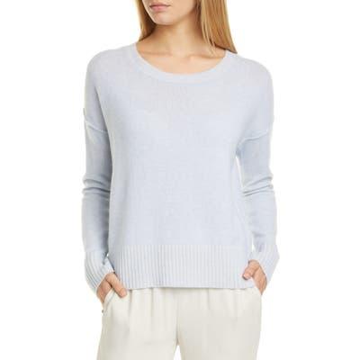 Eileen Fisher Cashmere Blend Box Sweater, Blue