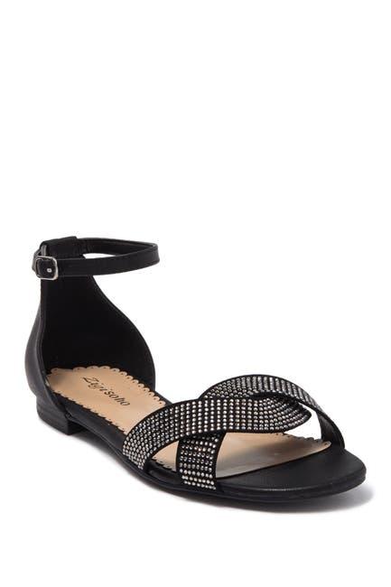 Image of Zigi Soho Teila Embellished Ankle Strap Sandal