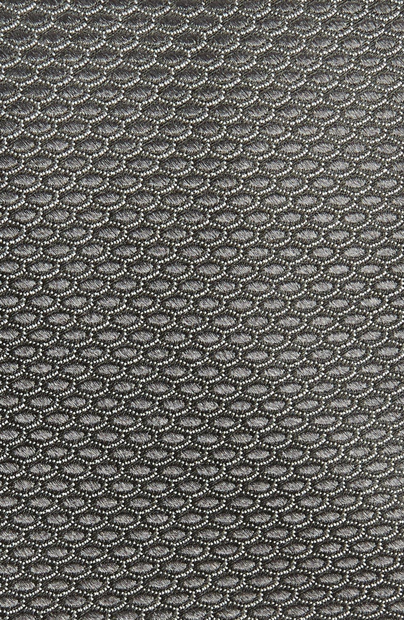 ,                             Soda Geometric Silk Tie,                             Alternate thumbnail 2, color,                             BLACK