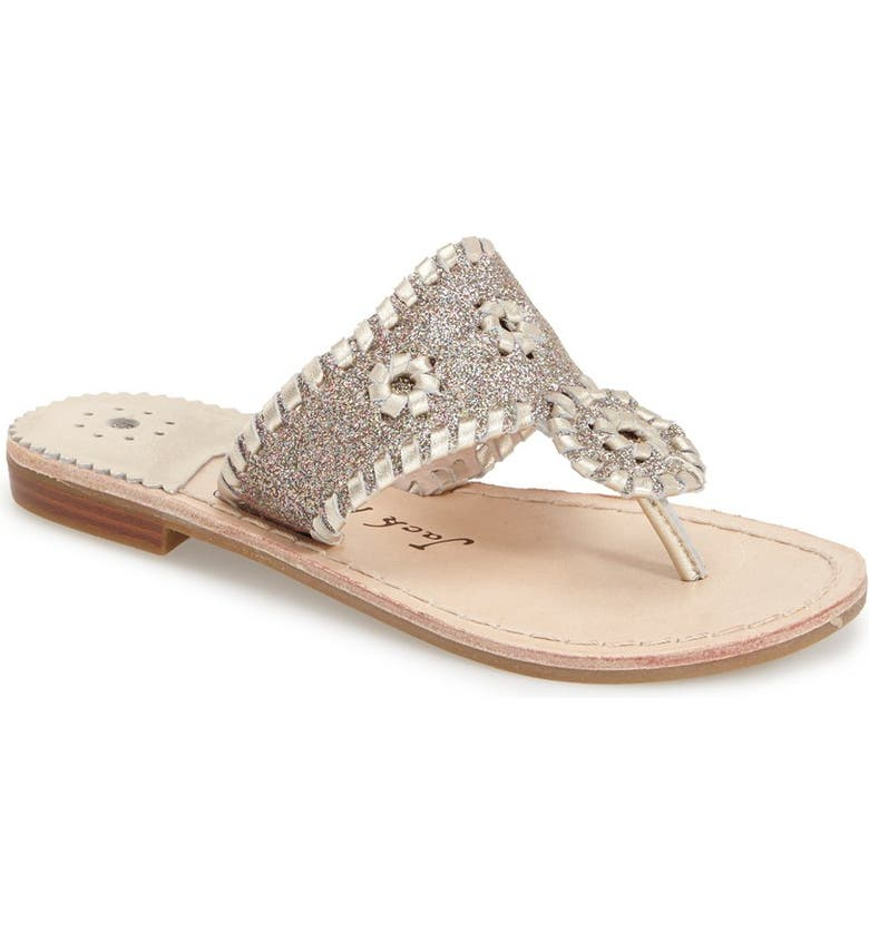 JACK ROGERS 'Miss Sparkle' Sandal, Main, color, 453
