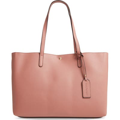 Sole Society Zeda Faux Leather Tote - Pink
