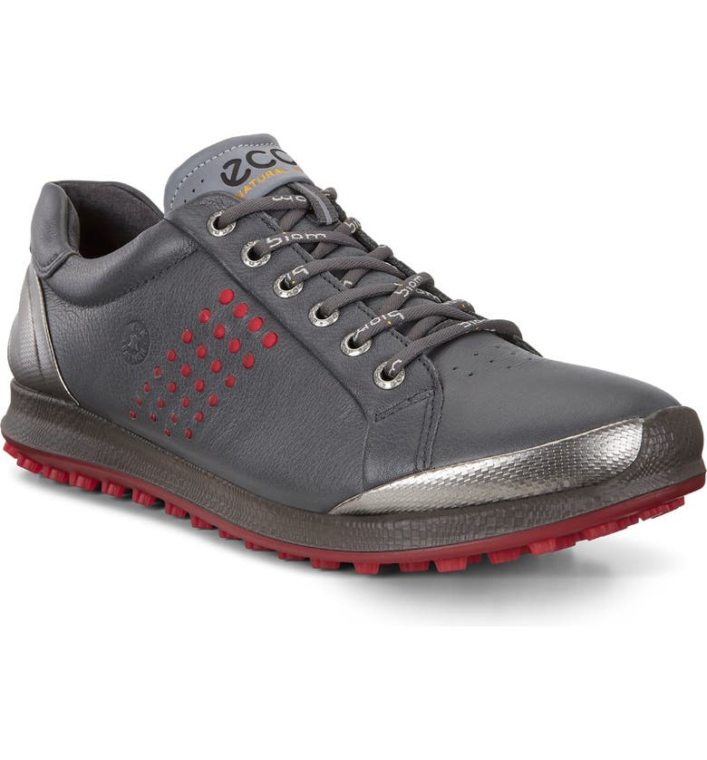 ECCO Biom Hybrid 2 Sneaker Golf Shoe, Main, color, GREY