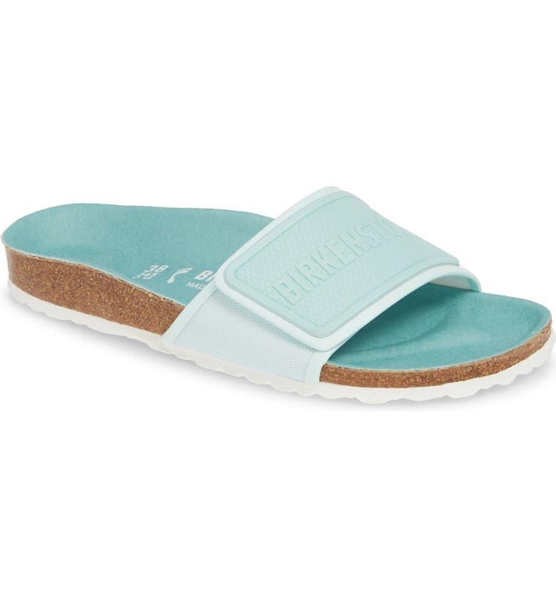 BIRKENSTOCK Tema Slide Sandal, Main, color, MINT TEXTILE