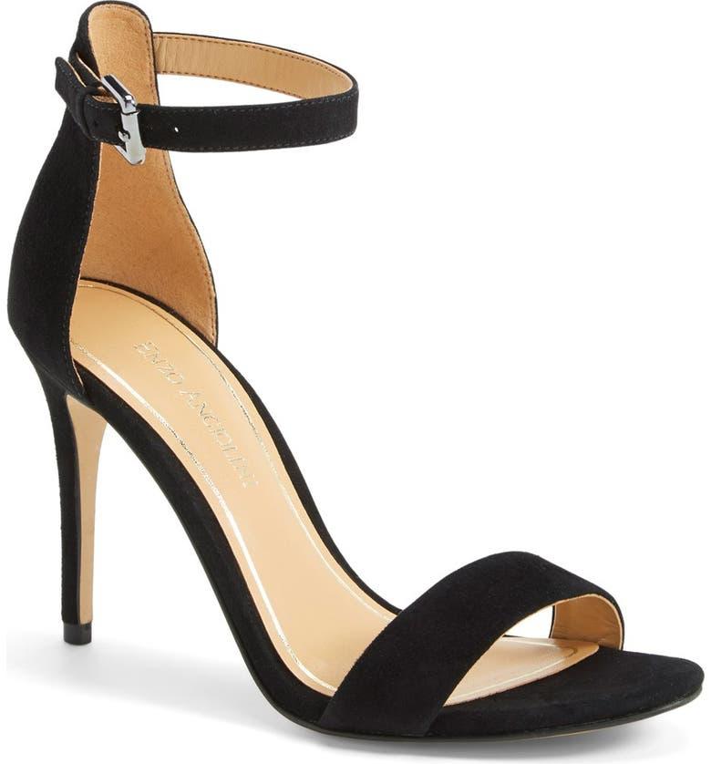 ENZO ANGIOLINI 'Manna' Ankle Strap Sandal, Main, color, 001