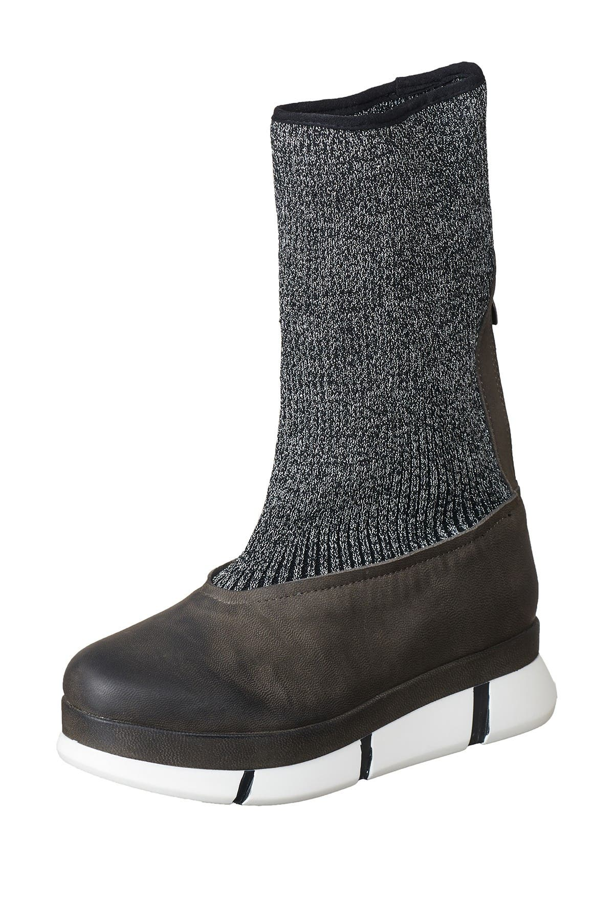 Image of Antelope Sock Knit Leather Boot