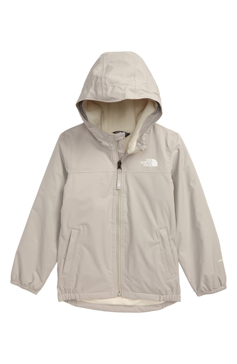 THE NORTH FACE Warm Storm Waterproof Hooded Jacket, Main, color, DOVE GREY
