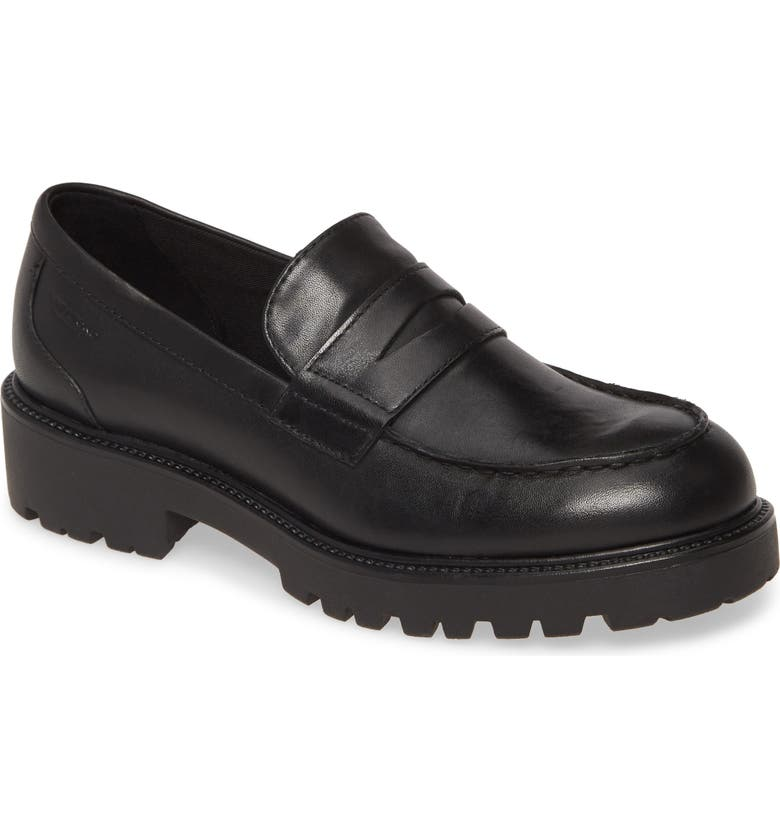 VAGABOND SHOEMAKERS Kenova Loafer, Main, color, BLACK LEATHER