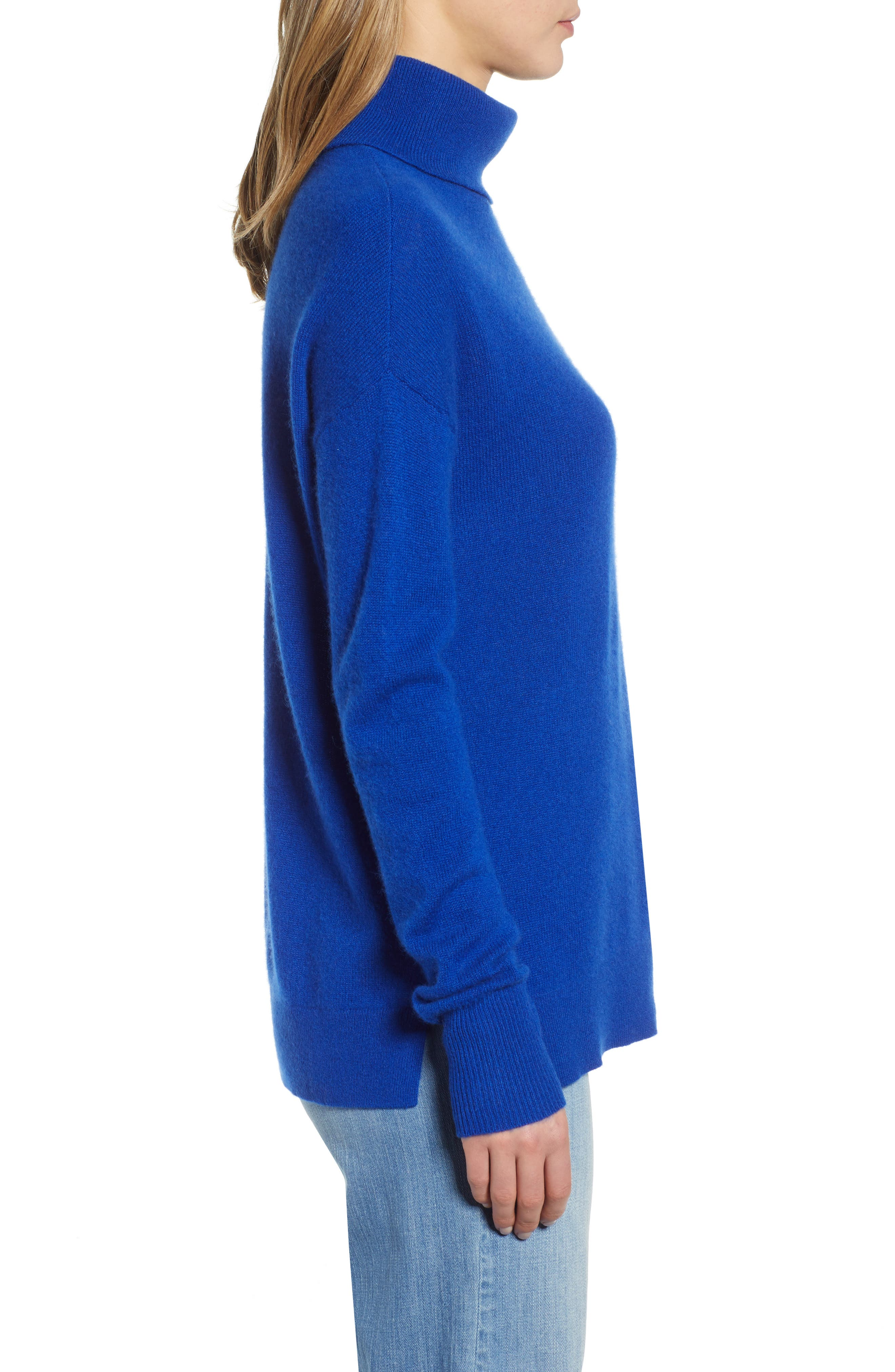 ,                             Cashmere Turtleneck Sweater,                             Alternate thumbnail 27, color,                             401